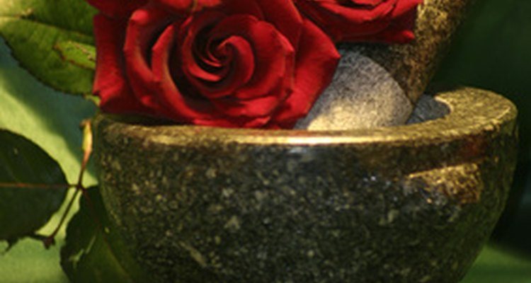 Roses preserved with gycerine can last for years.