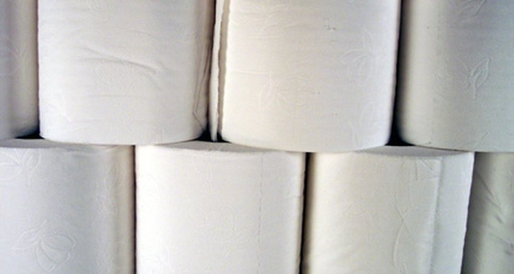 Rolls of toilet paper can play a role in an amusing party game.
