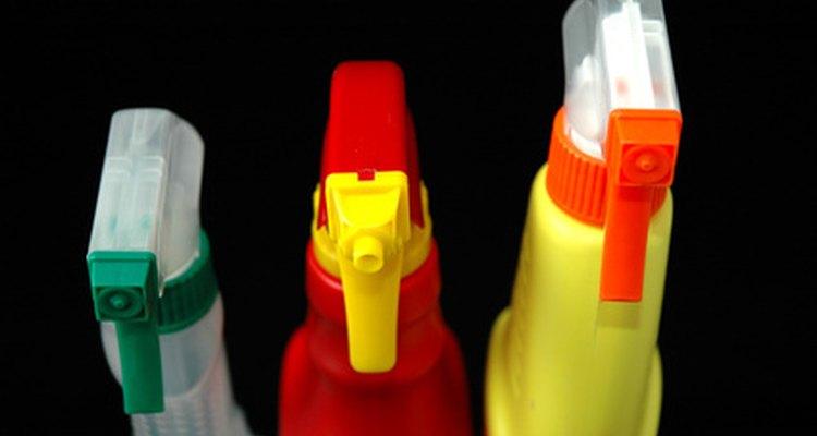 Botellas de limpieza