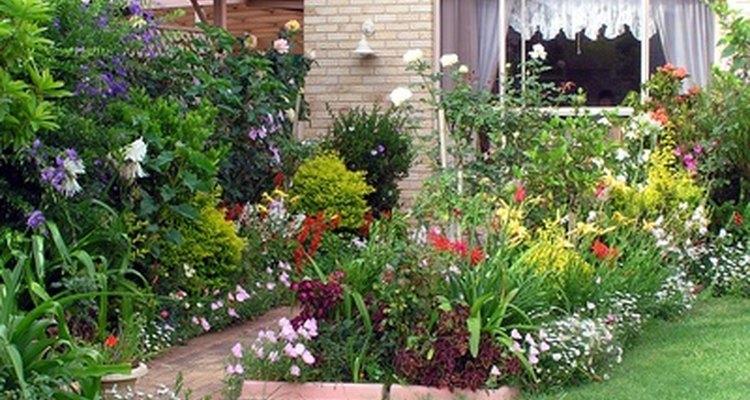 Los jardines pequeños pueden ser hermosos.