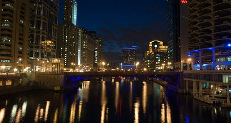 Las luces de Chicago.
