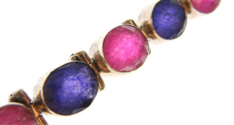 Rhinestones are cheap alternatives to precious stones.