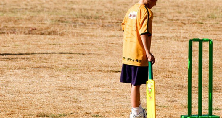 Personalise your cricket bat with your homemade sticker