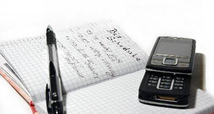 Puede que tenga que llevar un calendario de veces que se reserva para los proyectos en curso o clases particulares de trabajo.