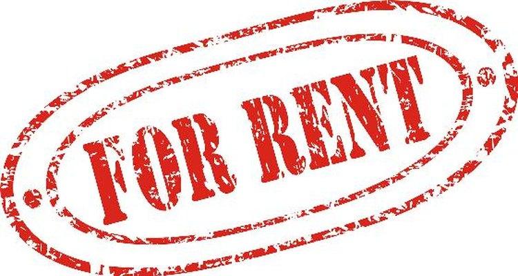 Faça recibos para o valor do aluguel