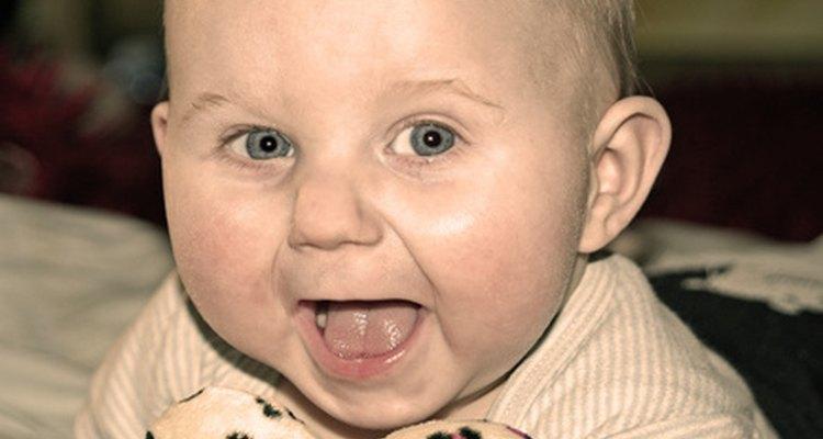 Cuando los bebés están felices, los padres también lo están.