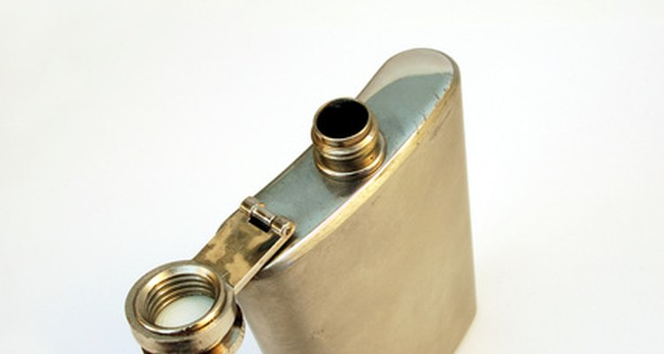 Preserve the appearance of your silver flask by cleaning it frequently.