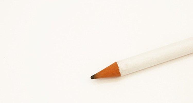 Marque um pontilhado com o lápis