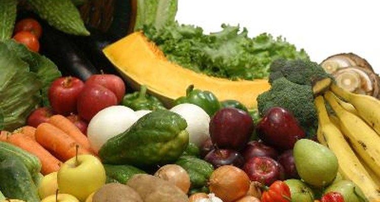 Frutas y verduras.
