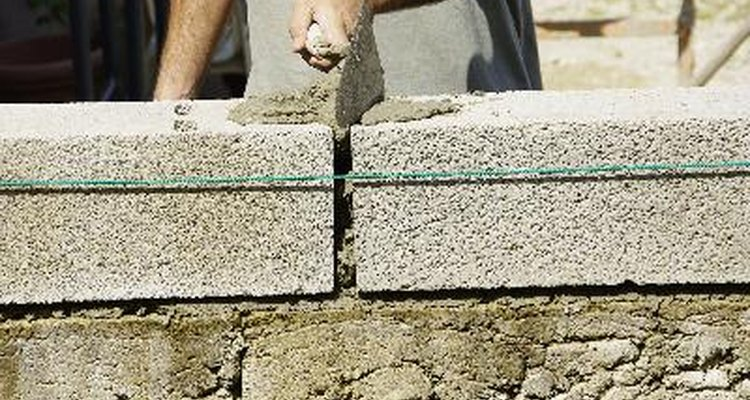 Laying bricks requires accuracy and planning to achieve the perfect result.