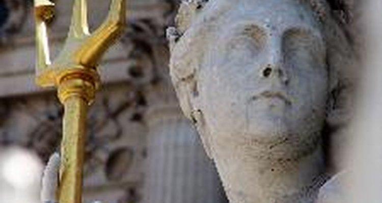 Poseidón era un dios en la mitología griega que gobernaba el reino del mar.