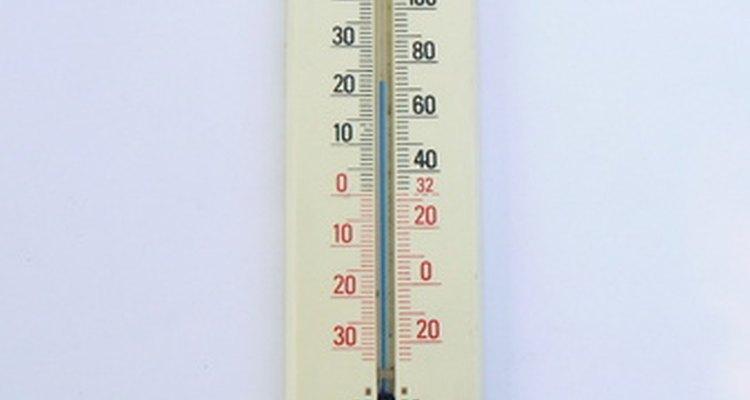 A maioria das tintas termocrômicas mudam de cor em 27 ºC