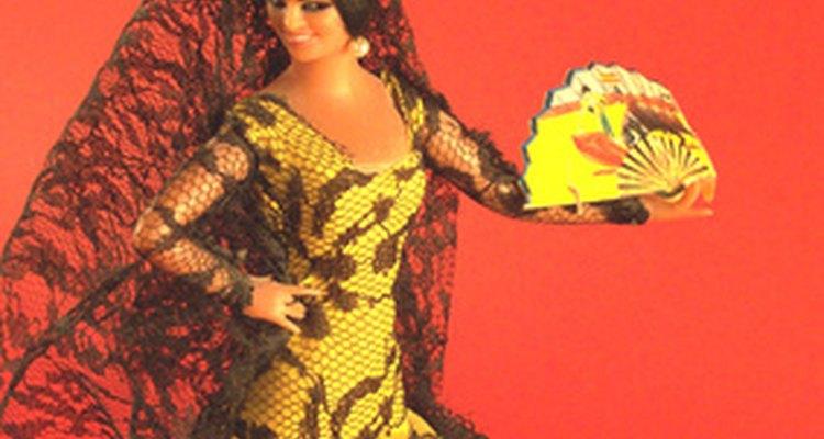 A mantilha de renda -- um componente chave da roupa das mulheres espanholas durante séculos