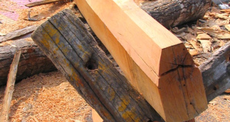 Sturdy pieces of wood can prevent pigeons from occupying spaces in your garden.