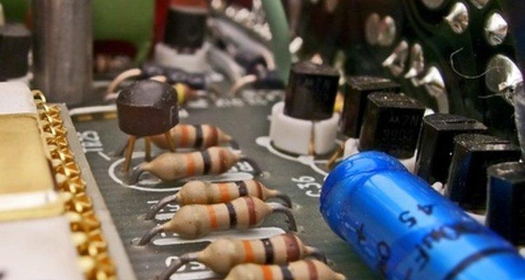 Resistores em um circuito elétrico