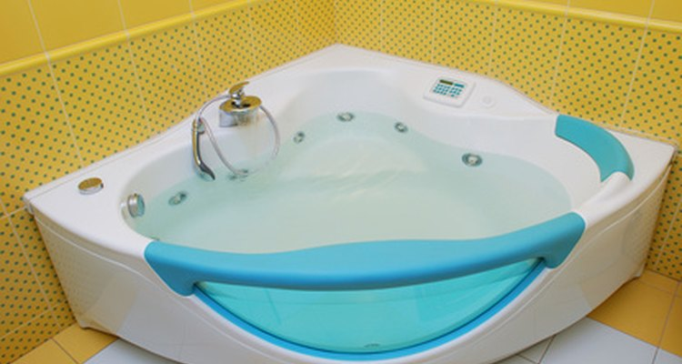 Bathtubs can be insulated with spray-on foam or polyiso sheets to prevent energy waste.