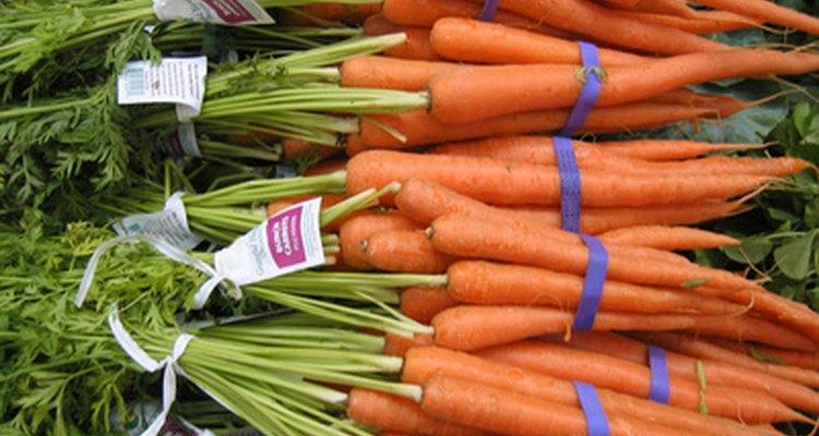 Avoid eating the green stalks of the carrot.