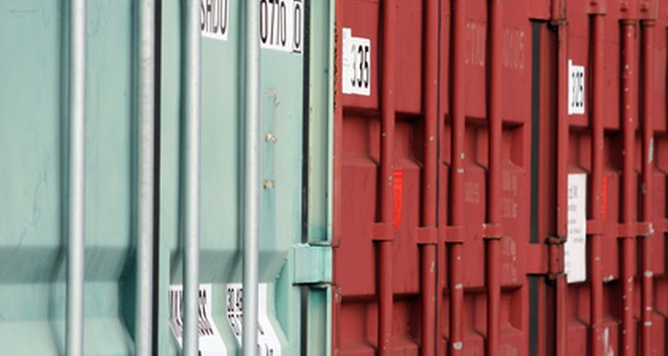 You can accommodate containers of various sizes in your house design.