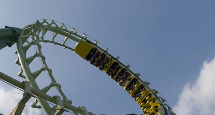 Loops and turns in roller coasters can cause headaches.