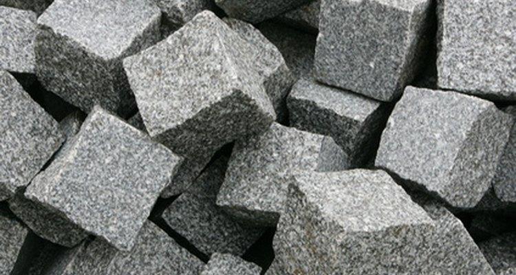 Granite is variable in density.