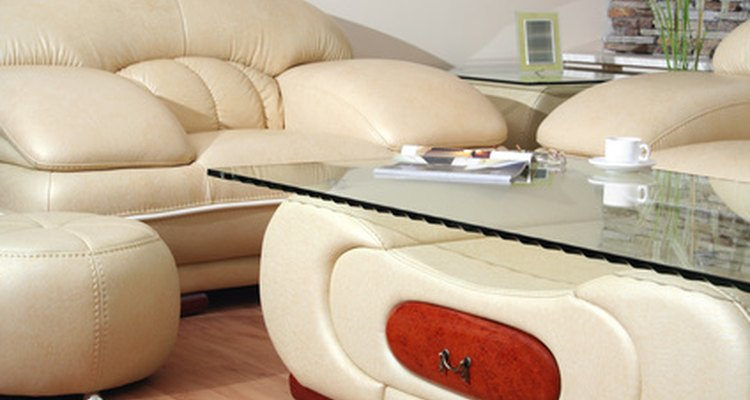 Ink stains detract from the luxurious appearance of leather furniture.
