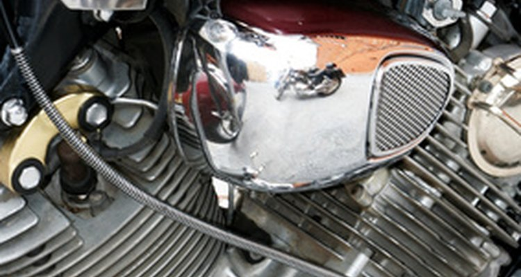 Most motorcycles house their alternators on the left side of the motor.