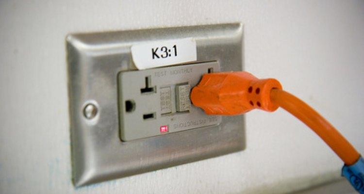Toma corriente de 110 voltios.