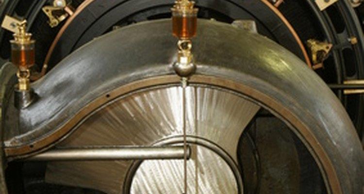 Diferencia de presión entre un rociador de aire y uno sin aire.