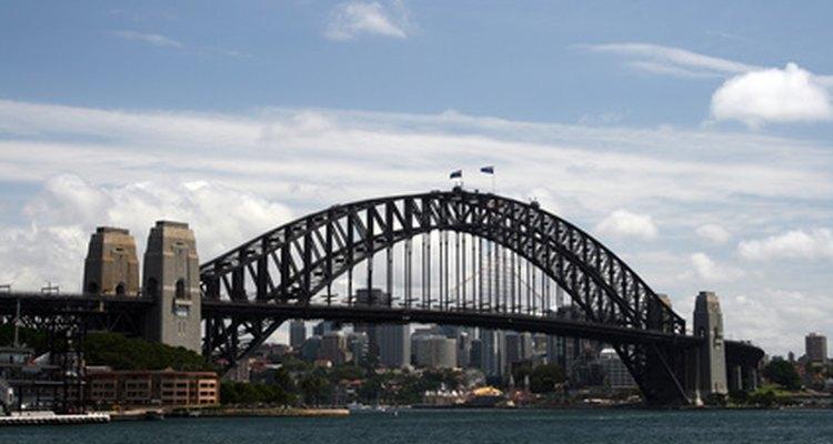 El puente del puerto de Sidney.