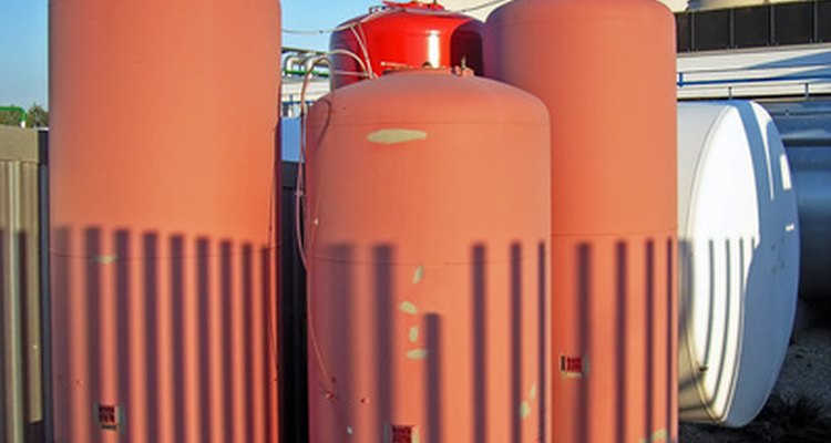 Boilers use water to carry heat throughout a building.