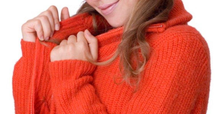 Roupas em camadas ajudam a reter o calor interno do seu corpo