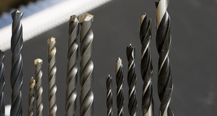 Using differently sized drill bits will help you complete your building project.
