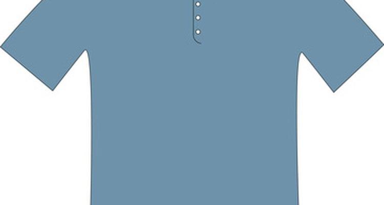 Uma camisas polo é um exemplo de peça que utiliza a técnica de tricô piquet