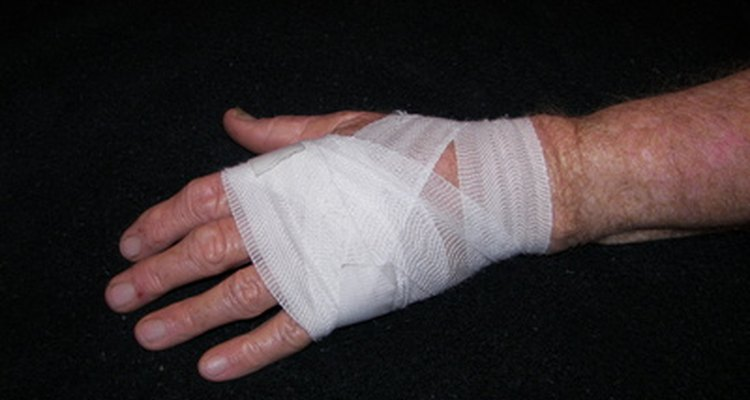 Sprains and strains are common sports injuries.
