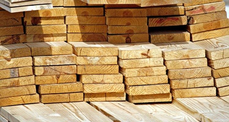 Elige una madera recta para obtener los mejores resultados.