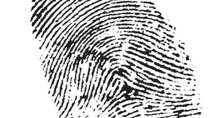 Las huellas dactilares a menudo llevan a un arresto.