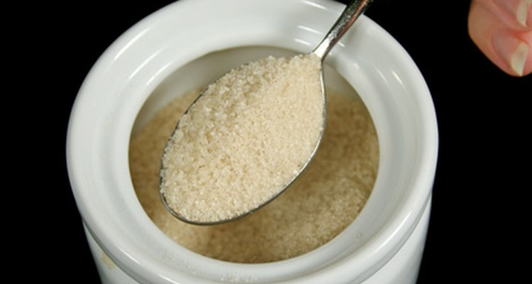 Sucrose solution can be made from common table sugar.