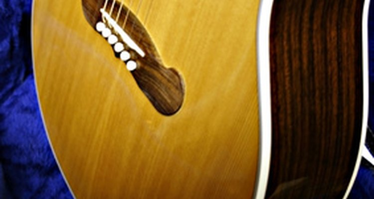 Acoustic guitars can be connected to an amplifier to increase the volume.