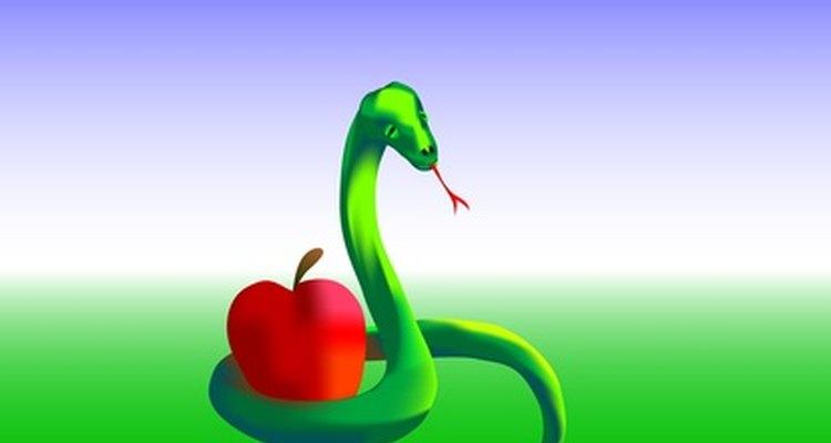 Dios maldijo a la serpiente por engañar a Eva.