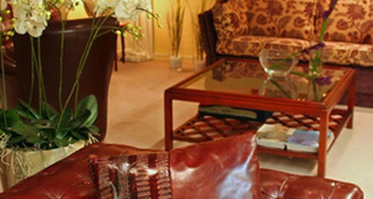Chesterfield sofas, which are individually handcrafted, have a distinctive look.