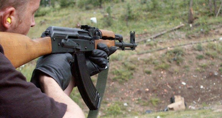 Un francotirador.