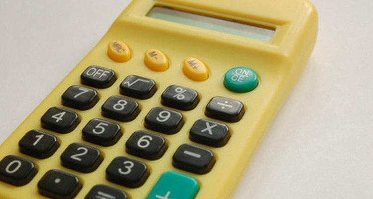 As calculadoras geralmente possuem funções de porcentagem, mas você pode trabalhar com essas contas utilizando processos matemáticos simples