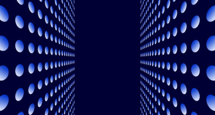 O fluorescente absorve a radiação e emite luz visível