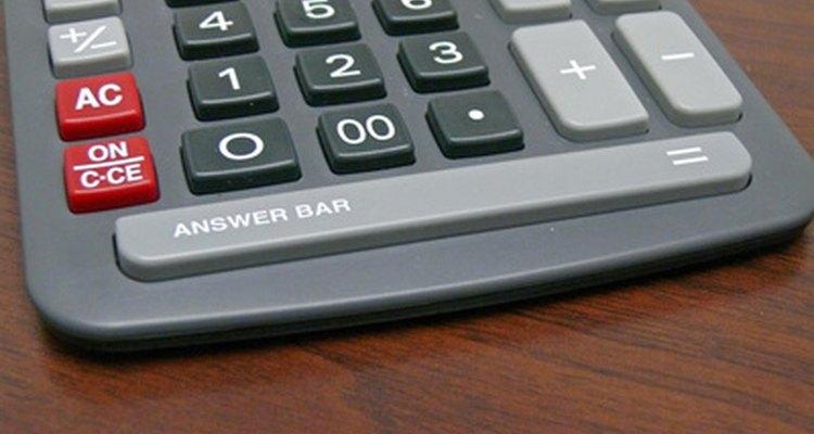 Utilize uma calculadora para realizar os cálculos com precisão