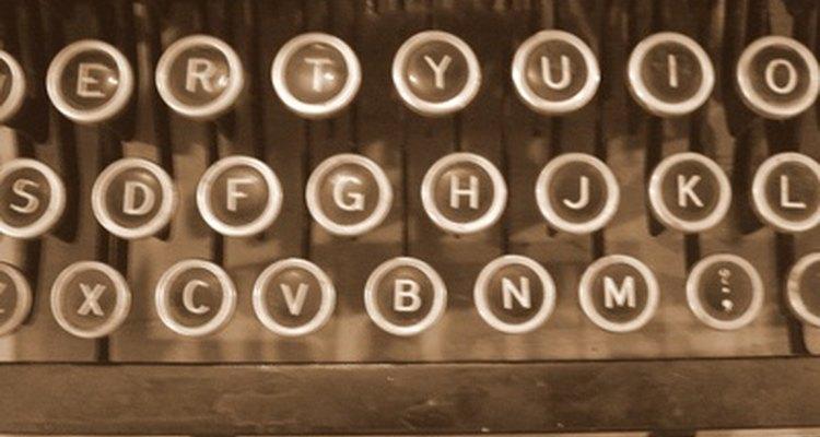 Faça o teclado do seu computador se parecer com uma máquina de escrever antiga