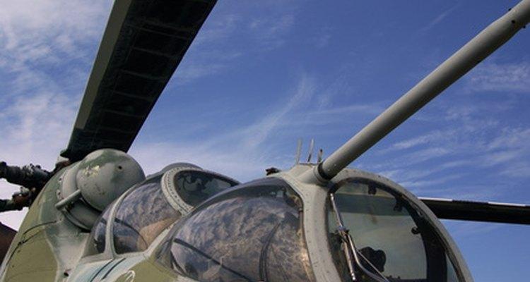 La Armada de EE.UU. es uno de los empleadores de pilotos de helicópteros.