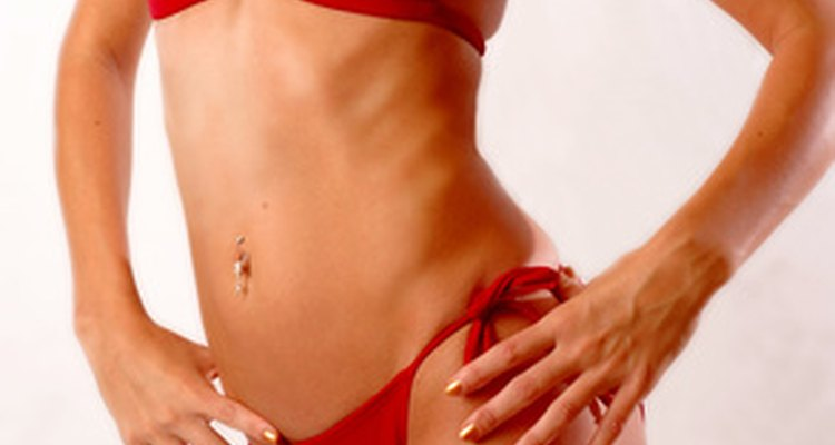 Getting rid of fat around the rib cage takes hard work and dedication to weight loss.