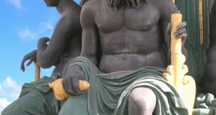 Zeus es el gobernante del Monte Olimpo.