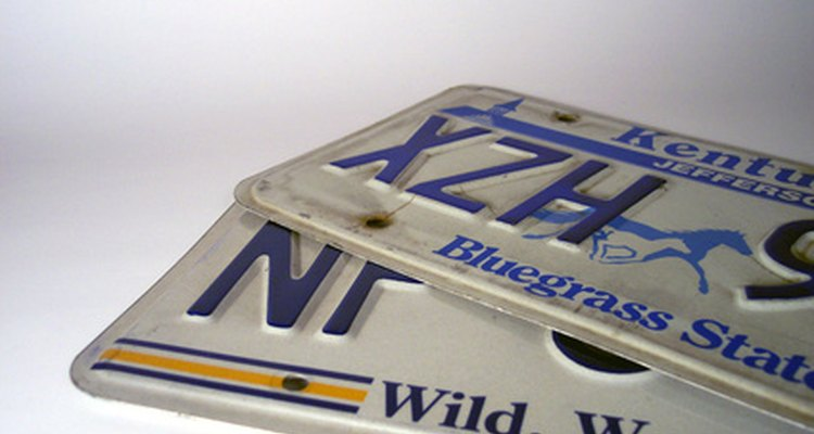 Many different games can be played by looking at number plates.