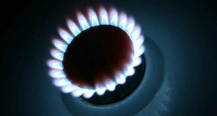 Ajuste a altura da chama do seu fogão a gás